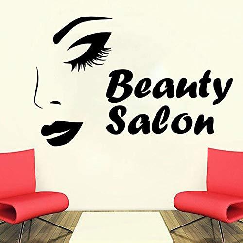 Tianpengyuanshuai behang voor dames, gezicht, huidverzorging, decoratie voor schoonheidssalon, muurstickers, vinyl, afneembaar