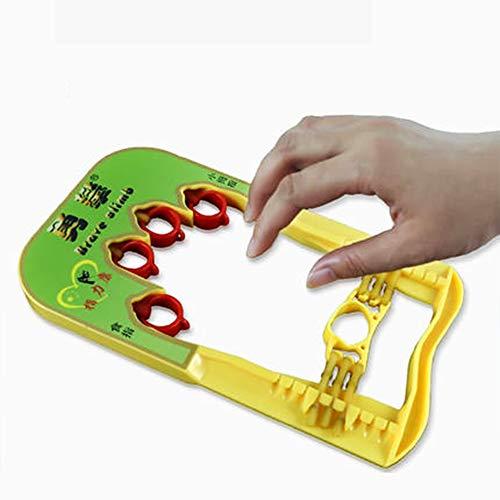 SXDY vingerexerciser, handsterker expert grip krachttraining voor grip, gitaar oefenen, piano spelen of hard spelen, klimmen en basketbal