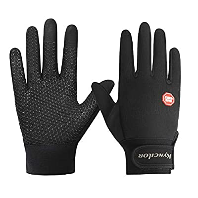 Winter Running Gloves Touchscreen Thermal Gloves Men Women Winter Windproof & Waterproof Gloves Snow Warm Gloves Liners for Running, Cycling, Driving Skiing Outdoor Sports (A,XL)