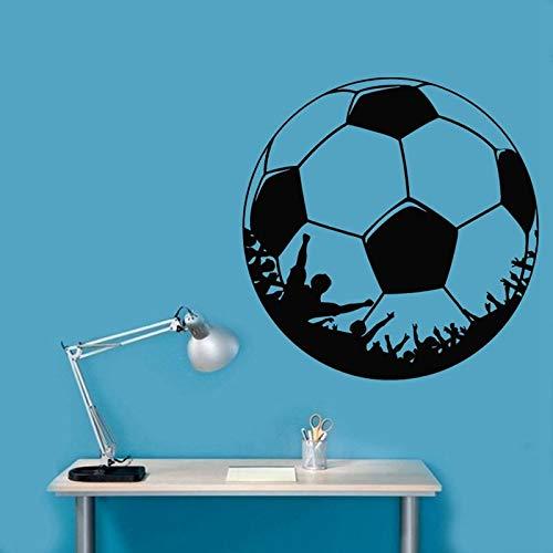 Tianpengyuanshuai voetballers, wandtattoo, zelfklevend, voor sport, kinderkamer, decoratie van het huis, vinyl, voetballers, autosticker