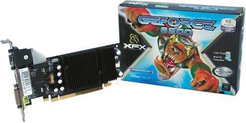XFX PVT44PPANG GF 6200 512MB DDR2 PCI-Express Grafikkarte DVI