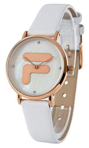 Fila - Reloj de pulsera para mujer, cuarzo, diseño nácar