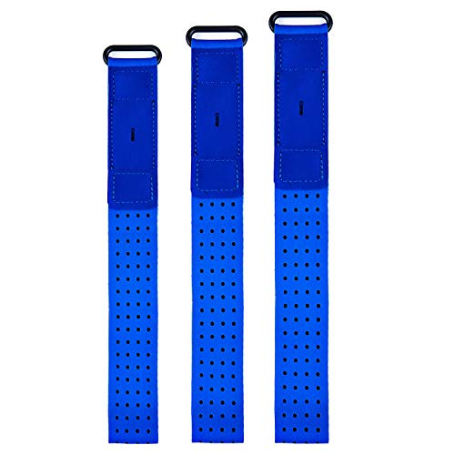 Chofit - Correas deportivas compatibles con Fitbit Inspire 2/Inspire HR/Charge 4/Charge 3/Charge/Alta/Alta HR/Flex/Fitbit One, brazaletes para tobillo (azul)