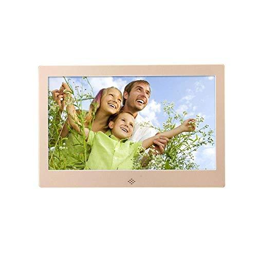 BHDYHM Digitale fotolijst, digitale fotolijst, 10 inch hdmi-hd-elektronische multifunctionele fotolijst