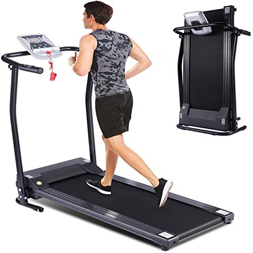 Folding Smart Electric Treadmill with LED Monitor Now $191 (Was $479)