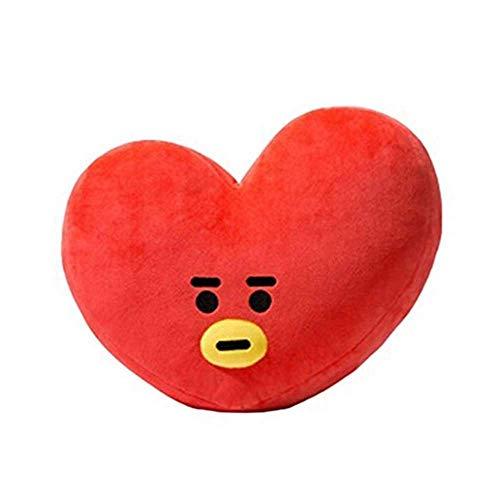 BT21 Plush Cartoon Doll Fan Gift Cute Body Pillow BTS Official Bangtan Boys Body Pillow Toy (TATA, 11.8 x 15.7 inches (30 x 40 cm)