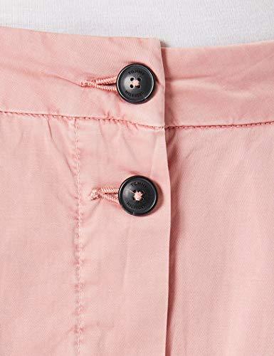 Tommy Hilfiger CO Modern Chino Midi Skirt Falda, Rosa, 38 para Mujer