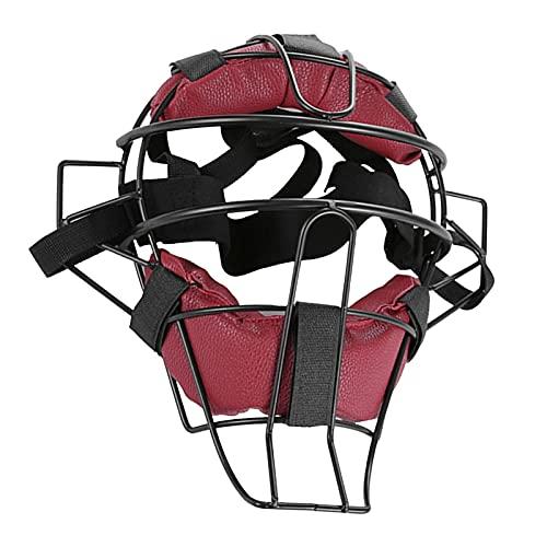 Casco de béisbol ligero y suave acolchado para adultos y adultos con protección facial de softbol de protección de seguridad, casco de Softball/Béisbol para adultos y niños