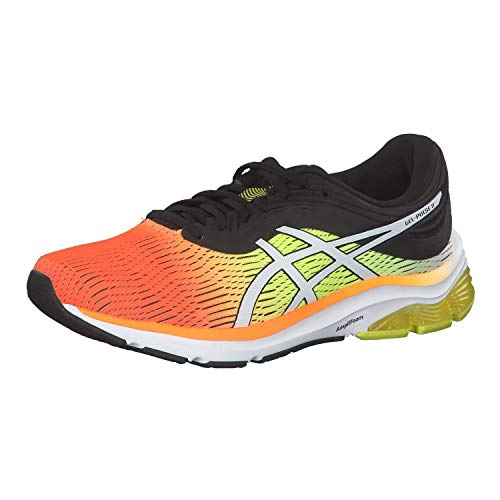 Asics Gel-Pulse 11, Zapatillas de Running Hombre, Naranja (Shocking Orange/Black 800), 46 EU