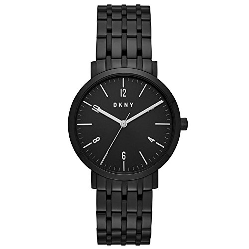 DKNY Women Minetta Quartz Stainless Steel Black with Black Dial Watch NY2612