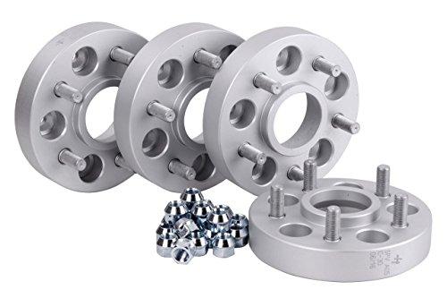 Hofmann Spurverbreiterung Aluminium 4 Stück (30 mm pro Scheibe / 60 mm pro Achse) inkl. TÜV-Teilegutachten~