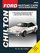 Chilton Total Car Care Ford Mustang 1979-1993 & Mercury Capri 1979-1986 Repair Manual (Chilton's Total Car Care Repair Man...