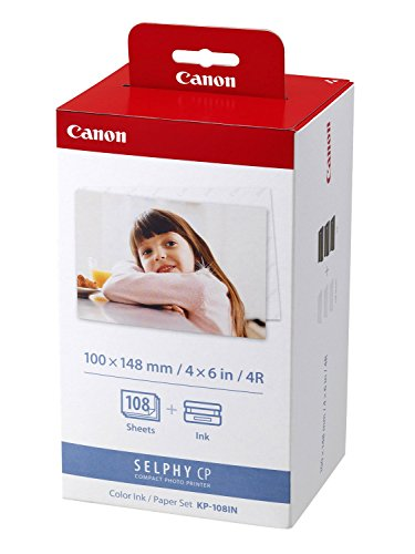 Canon Multipack per Canon Selphy CP 500  (07) 1x Canon Multipack KP-108IN