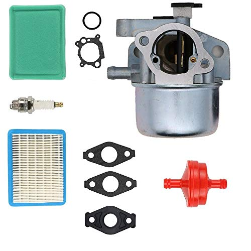 "SAKITAM Carburetor for Yard Machine MTD 11A-B16M029 21"" 6.75 hp Walk-Behind Mower with Gaskets Spark Plug Air Filter Carb Kit"