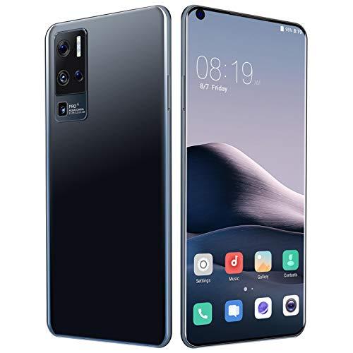 AYZE Smartphone 4gb RAM Schermo Intero da 7 , Fotocamera Professionale da 24-48 MP, Batteria da 5500 mAh, Sblocco Facciale con Impronta Digitale, Telefono Dual Sim, Android 10 128GB 2