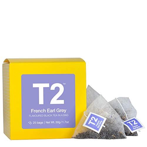 T2 フレンチアールグレイ French Earl Grey 50g (2g×25P) ティーバッグ