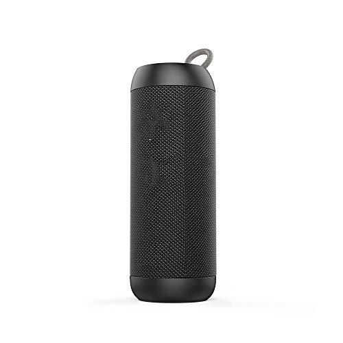 CHICAI Haut-Parleur Bluetooth Enceinte Portable avec 360 degrés Son Surround Heures Extra Bass Playtime sans Fil Téléphonie Mains Libres for extérieur Partie à la Maison