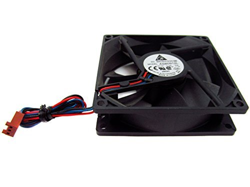 Delta DC Brushless Fan Dc12v 0.15a, 3-wire, 92x25mm