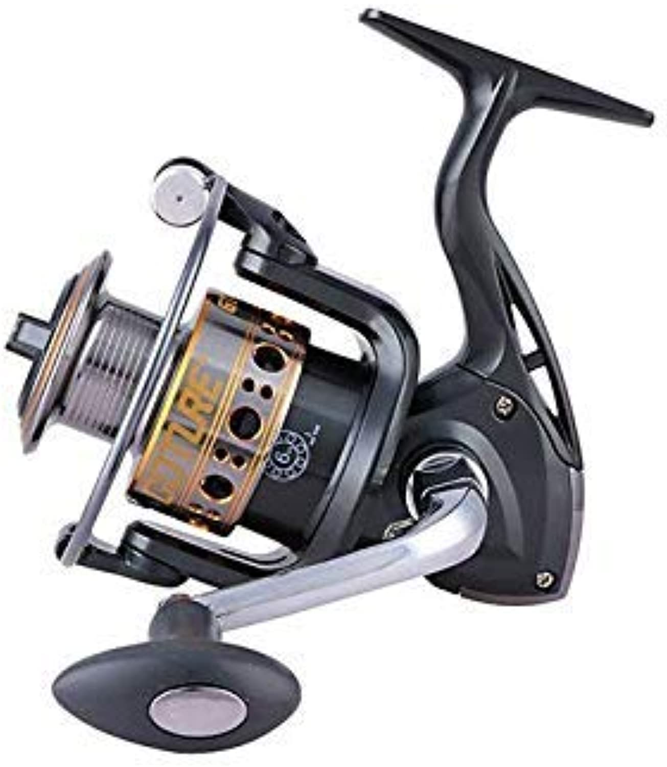 GEOPONICS Goture GTV GTS Crap Fishing Reel 6+1BB Reel for Fishing 500 1000 2000 3000 4000 5000 6000 7000 Left Right Spinning Wheel Peche color GTV Spool Capacity 1000 Series