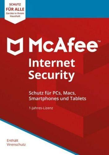 McAfee Internet Security 2019 | unlimited - für eine unbegrenzte Anzahl an Geräten | 1 Jahre | Download I Mobile Game Zombie Bar
