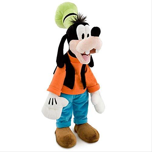 Ylout Juguete de peluche de 50 cm, animal de peluche, perro Goofy y juguete Kawaii muñeca regalo niños presente