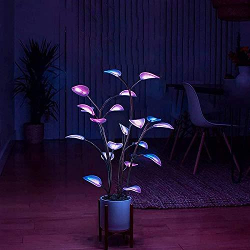 SSLLH LED Lampen Die Magisch Geführte Zimmerpflanze,Led Plant Light,Dekorative Lichterkette, Bonsai Zimmerpflanze Licht, Blattbaumlicht,Lichterkettenlicht,Künstliche Pflanzen für Home Decor Indoor
