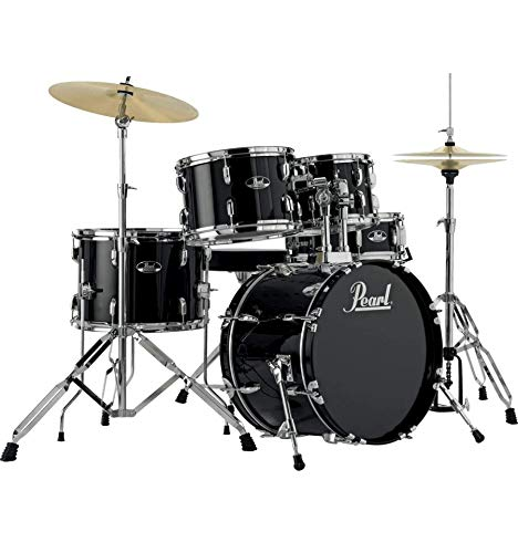 Batería Pearl Roadshow Junior 18 '5 Fûts – Jet Black