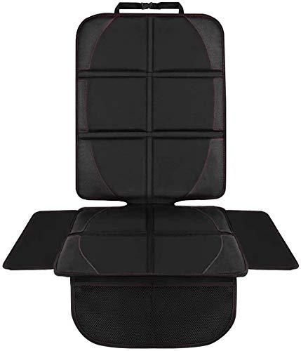 HONZUEN Verdicktes Autositzschoner, Universelles Autositzauflage, ISOFIX Geeigneter Sitzschoner, Rutschfestes Leicht zu Reinigen Kindersitzunterlage mit Seitenschutz