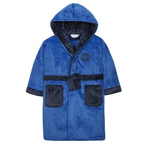 Minikidz Baby Jongens Voetbal Novelty Hooded Dressing Jurk Badjas Nachtkleding Leeftijden 2-13