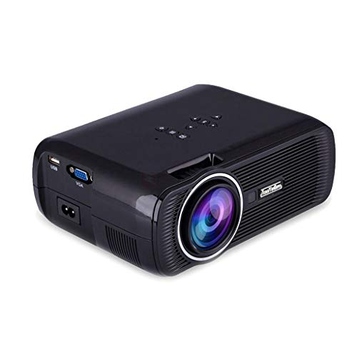 Myra TouYinGer X7 Led Projector 1800 Lumens, 800*600 HDMI USB VGA TV Home Cinema, Support Red & Blue 3D Format