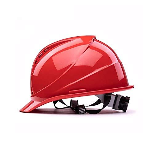 XHLJ Industrie-Schutzhelm ABS Helm Schutzhelm Arbeit Helm Außenarbeitsschutzhelm-BAU Arbeitsschutzkappe Site-Helm for Männer Und Frauen (Color : C)