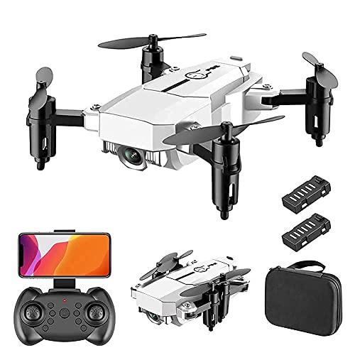 Drone avec caméra Drone avec caméra HD 1080P pour adultes et enfants, quadrirotor pliable avec vidéo en direct grand angle, vol de trajectoire, contrôle d'application, flux optique, maintien d'altitu