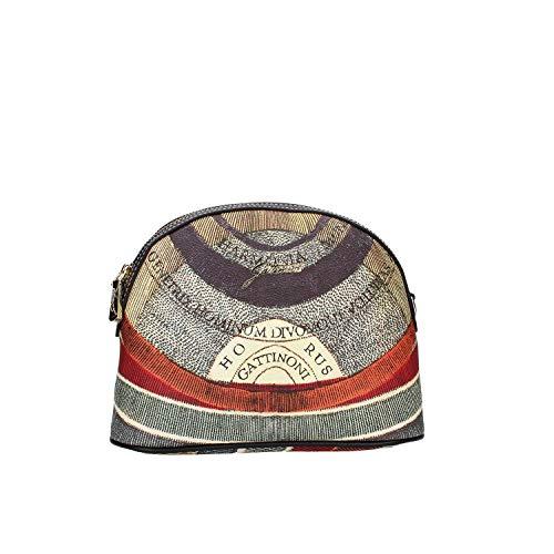 Gattinoni donna borsa a tracolla in PVC con stampa Planetario