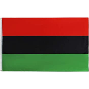 3x5 Fts UNIA Black Liberation African American Afro Flag