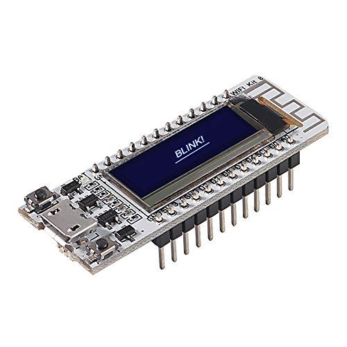 Dealikee ESP8266 Heltec mit OLED WiFi Development Board NodeMCU ESP8266 OLED Display CP2102 für Arduino IDE ESP8266 NodeMCU LUA
