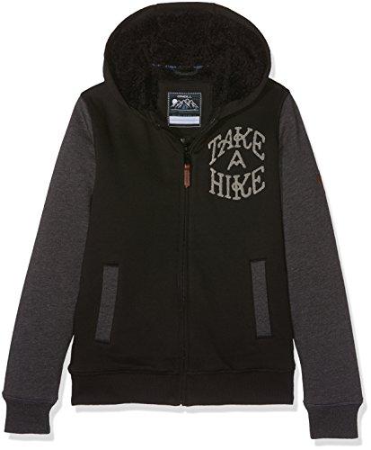 O'NEILL LB Take A Hike Sweat-Shirt à Capuche Garçon, Black Out, FR : 2XL (Taille Fabricant : 152)