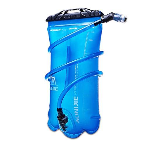 RONGJJ Poche à Eau Sac d'hydratation Bleu Sac à Dos Hydratation Water Bag pour Sport Randonnée Camping Escalade randonnée de Cyclistes, 3l