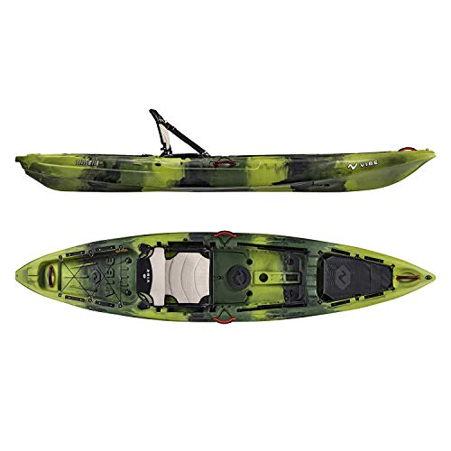 Vibe Yellowfin 120 Fishing Kayak (Moss Camo)