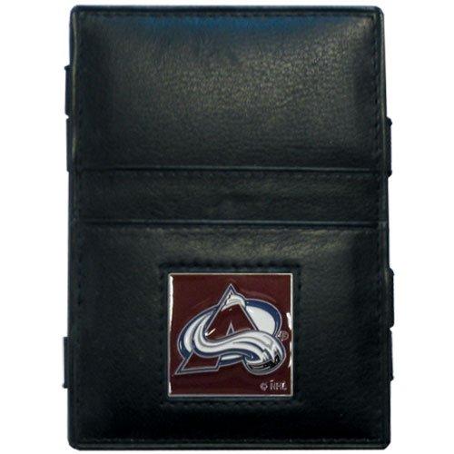 NHL Colorado Avalanche Genuine Leather Jabob's Ladder Magic Wallet