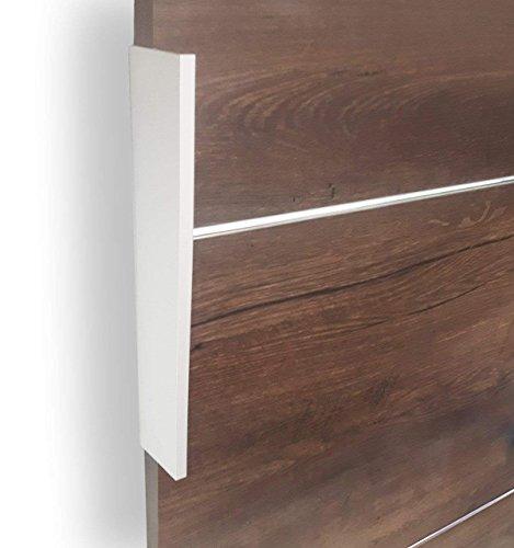Mirjan24 Schiebetürsystem Multi Plus Komplett-Set für Schiebetüren Trennwände, Innentüren (Weiß, Modell 90, mit Selbstschließer) - 2