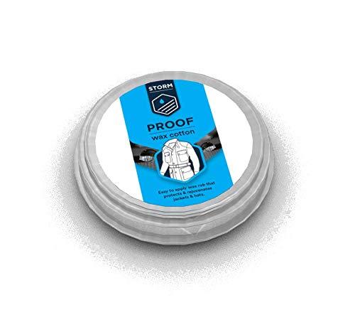 Storm Wax Cotton Dressing - Wachs für Wachsjacken - Pflegewachs - Imprägnierwachs (35 Gramm)