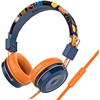 Baseman Wired On-Ear Kids Headphones with Microphone