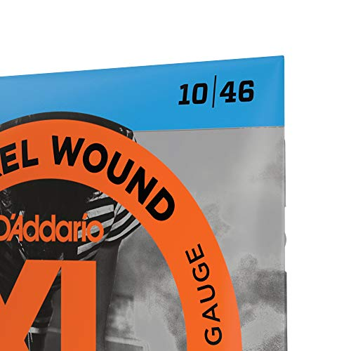 D'Addario EXL110 XL Nickel Wound Regular Light (.010-.046) Electric Guitar Strings