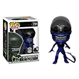 Lotoy Funko Pop Movie Specialty Series: Alien 40th Xenomorph (Blue Metallic) #731 Vinyl 3.75inch Fig...