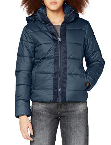 G-STAR RAW Womens Meefic Hooded Paded Jacket, Vintage Navy B958-1605, XL