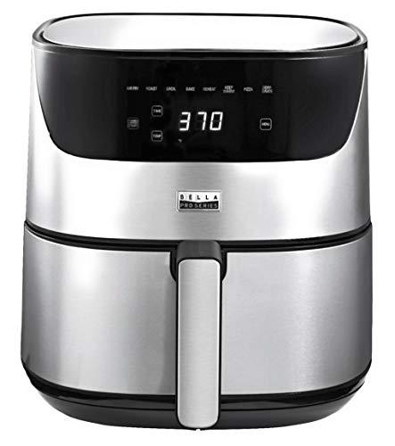 Bella Pro Series 6.3 qt Touchscreen Air Fryer Stainless Steel
