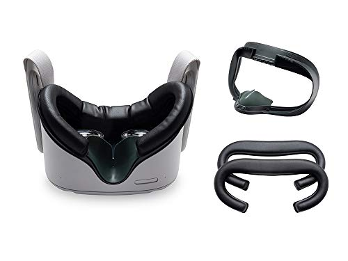 VR Cover Facial Interface & Foam Replacement Set for Oculus Quest 2 (Standard Edition)