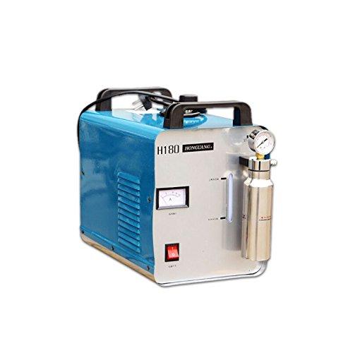 95L 300W Oxygen Hydrogen HHO Generator Acrylic Polishing Machine Water Welder Flame Polisher 110V/220V + 1 Gas Torch