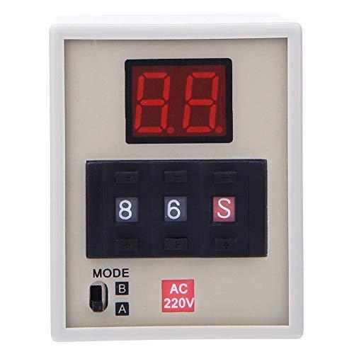 AC220V AH3-DM Zeitrelais Digitalanzeige 0,01S ~ 990H Zyklussteuerungsverzögerungs-Timer mit integriertem A B Dual Mode CMOS IC
