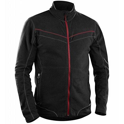 Blakläder 499710109900XXL Größe 2XL Große, Micro-Fleece Jacke–Schwarz